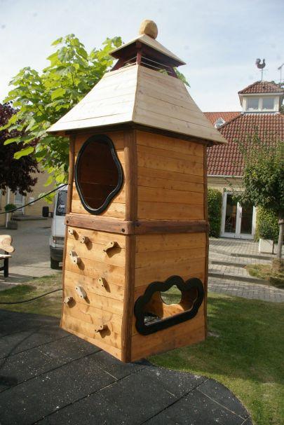 Klatretårn til legeplads
