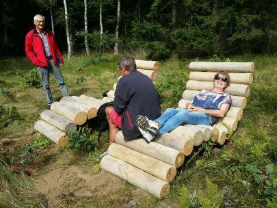 Solstol i træ til voksne og børn