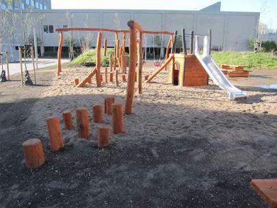 Legeplads fra Den Lille Legepladsfabrik