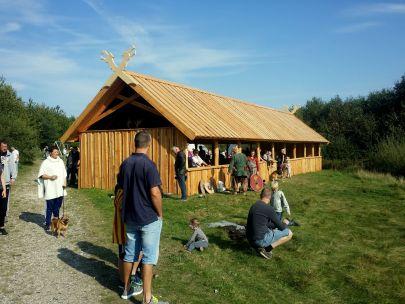 Vikingehus i træ